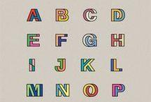 Alphabet / Nice Initial・Font・Typography