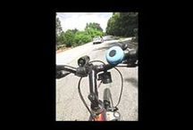 The Little Blue Bike Bell / Hi! I'm The Little Blue Bike Bell. I ride around and bear witness about the good, the bad, and the wtf! regarding bike access and safety for all. See more at https://thelittlebluebikebell.wordpress.com / by Pattie Baker