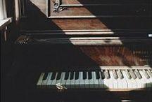 "Piano / ""The piano ain't got no wrong notes."" – Thelonious Monk"