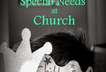 Church, Struggles and Special Needs / As we are on a journey with our own dear son, I've *started* to be more aware of the struggles of others too. How can we help in a church setting?