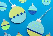 Christmas Crafts with Kids / Ideas for Christmas crafts for kids - for different ages and resource level.