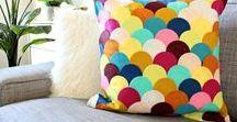 DIY: Kissen selbermachen / Kissen und Kissenbezüge selber nähen, stricken, häkeln,… Kissenhüllen besticken, upcyclen, bedrucken, applizieren, …