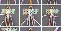 Basteln mit Kindern: Wolle & Garn / DIY mit Schulkindern: Alles aus Garn und Wolle. Häkeln, Stricken, Knüpfen, Sticken, Sticken, Freundschaftsbänder, Bommeln, Strickliesl, Fransen, Quasten, Armbänder,…