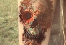 Ink / I love tattoos.  But, mostly I would love to get these tattoos. / by Callie Wohlwend