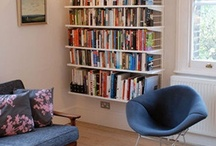 ¤ Bookcases and Nooks ¤ / by Callie Wohlwend