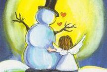 Christmas ~ Snowmen  / by Susan Bambino