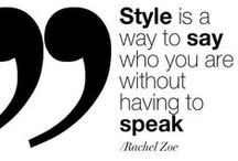 Shoes and Fashion Quotes / A collection of our favorite quotes about fashion and shoes. / by Bata