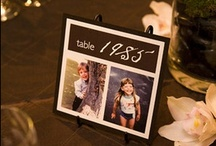 WEDDING | Table Names/Numbers