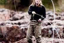 """Fishing / """"Anyone who lives within their means suffers from lack of imagination."""" --Oscar Wilde"""