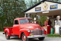 "Trucks / ""Why use a pickup line when you got a pickup truck?"" --Earl Dibbles, Jr."