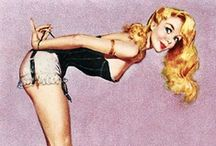 Pin ups / by Callie Wohlwend