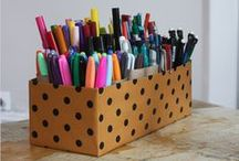 Organization and Cleaning / by Callie Wohlwend