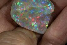 Opals Unset / Most of these stones are from the famous Yowah and Koroit Opal fields in the South West of Queensland, Australia. Some also from the Winton and Quilpie regions to the north