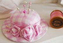 Pin Cushions / by Connie (Betty Banner)