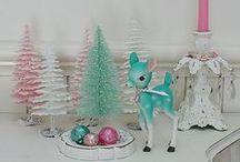 Christmas ~ Winter ~ Aqua, Blue & Pink / by Susan Bambino