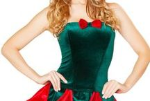 Santa Baby / A little nice, a little naughty! Dress up as Mrs. Clause for your Santa this Holiday season... make it one he'll never forget! We've just added Sexy Santa costumes...wide selection!