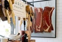 """The Butcher Shop / """"A good butcher is important to have; it's like a shrink."""" --Carson Daly"""