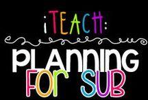 iTeach: Planning for Sub  / Edu