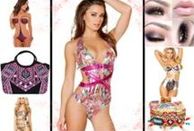 Monokini Swimsuits 2014 / We are mad about monokini's!  They are the newest way to look hot and sexy on the beach.  with so many different cuts to choose from you are sure the find the right sexy monokini for you!