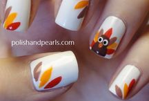Thanksgiving Nails / by Taybree