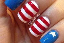 4th of July Nails / by Taybree
