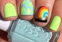 St. Patricks Day Nails / by Taybree
