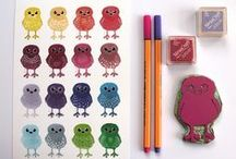 Feltmeupdesigns Rainbow Doodle Birds Tea Towel Kickstarter / My Kickstarter project, crowd funding my new tea towel design, I'm aiming to raise money to expand my product range.  please share, thank you!
