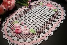 doilies / doilies, and other crochet items for the tables / by Connie (Betty Banner)