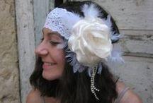 Alkotásaim - Örökvirág hajdíszeim - My handmade flower hair accessories for weddings