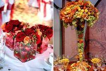 Esküvői dekoráció (vegyes) - Wedding decoration (mixed colors)