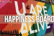 Happiness / What I want in life pinned in one board!