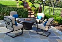 Outdoor Paradise / Creating backyard bliss one piece at a time.  From garden stones to patio cushions & pillows, our extensive selection of outdoor décor will bring your backyard to life. Trees n Trends carries outdoor patio furniture from Lane Venture, Casa Casual, Erwin & Sons, Hanamint, Woodard, and Agio.