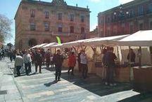 Mercado Ecológico y Artesano de Gijón / El Mercado Ecológico y Artesano se ha consolidado como una auténtica cita en la Plaza Mayor, todos los segundos fines de semana de cada mes. / by Gijón Turismo