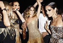 Party Time! / Inspiration & fashion, beauty & styling ideas for your next bash. From sequins & glitter to killer updos and beautiful beauty products.