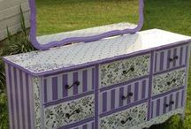 Painted furniture & accessories