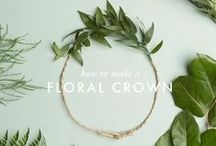 all about the floral crowns / by Samantha Vanderlist