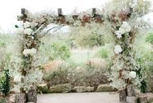 A meadow wedding / A Bohemian organic shabby chic wedding in the LG mountains