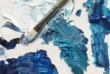 blue / by Jenna Sachs