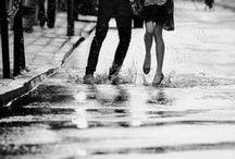 Séance couple sous la pluie? / Si vous êtes courageux, nous pouvons braver la pluie... ou rester au chaud!