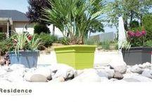 Pots pour fleurs et arbustes