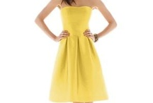 Yellow dress ideas for 8/25 / by Sarah Lauing
