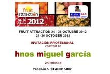 Fruit Attraction / frutas que atraen