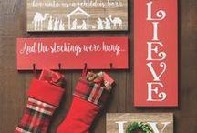 Christmas Decor / Christmas decor, nativities, ornaments, and more.