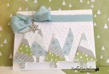 Stampin' Up!-  Retired Christmas Cards
