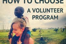 Volunteer Abroad / How to volunteer and see the world at the same time