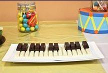 Les Gâteaux d'Anniversaire des Musiciens / Les gâteaux en forme d'instruments de musique les plus réussis