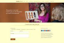 Mailchimp / Newsletter integration / Websites we've designed with mailchimp or newsletter integration solutions at adogandesign.com Tulsa Web Design Agency