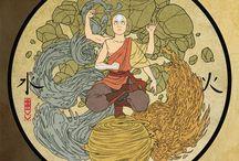 Avatar The Last Airbender / The Legend of Korra