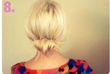 Hair Tutorials  / Come on, let's try these styles and have fun with our hair! / by Sara Jenkins