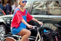 Chic Bike Style / Ride around town in style. / by Sara Jenkins